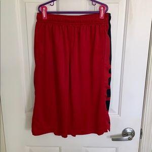 Boys Nike gym shorts size XL